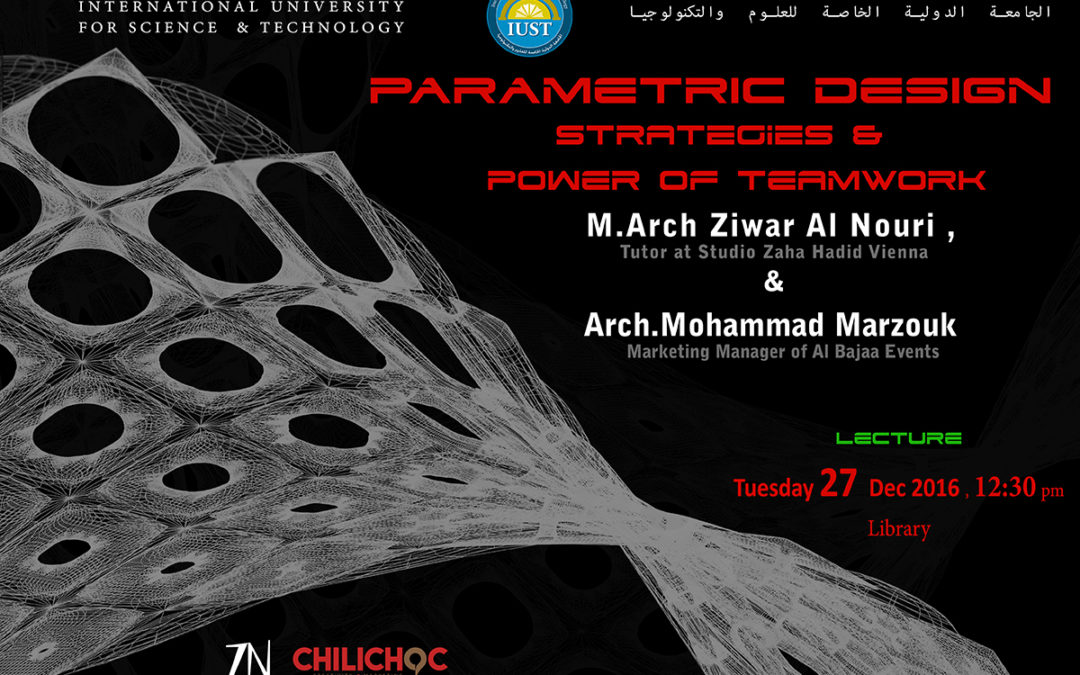 Parametrice Design Strategies & Power of Team Work_IUST University